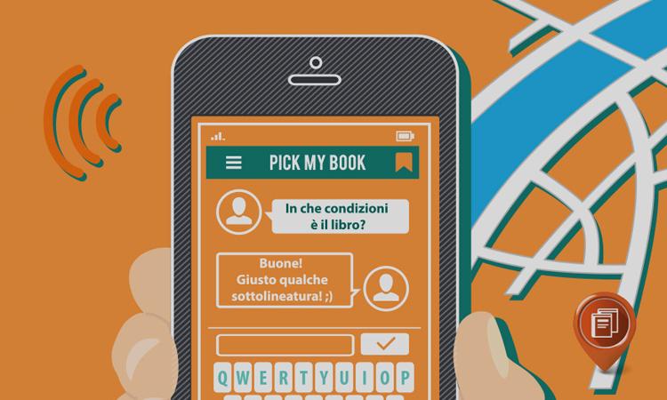 PickMyBook: l'app per vendere i libri