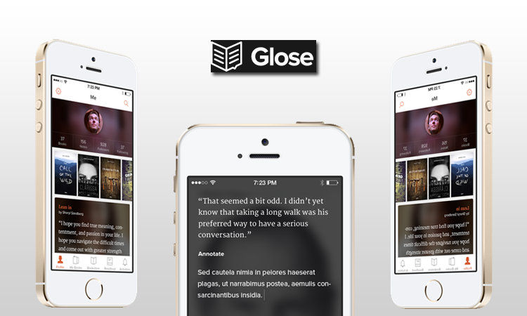 Glose: l'app che vuole rendere interattiva la lettura