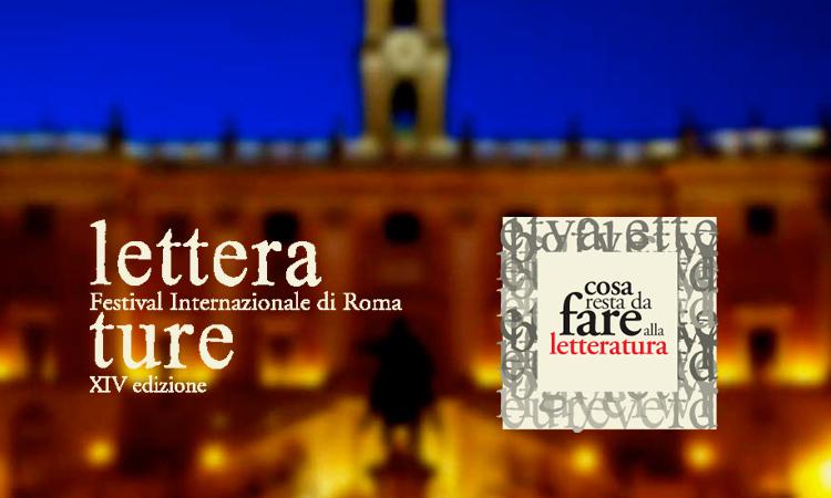 Letterature. Festival Internazionale di Roma, 9-30 giugno 2015