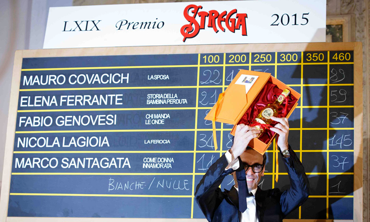 Nicola Lagioia vince il Premio Strega 2015