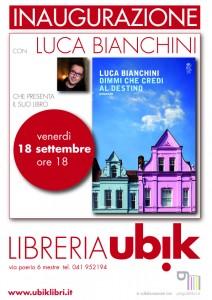 Luca Bianchini a Mestre