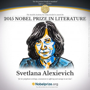 Svetlana Aleksievic Nobel