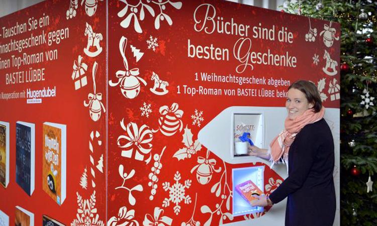 In Germania, la macchina per riciclare i regali e trasformarli in libri