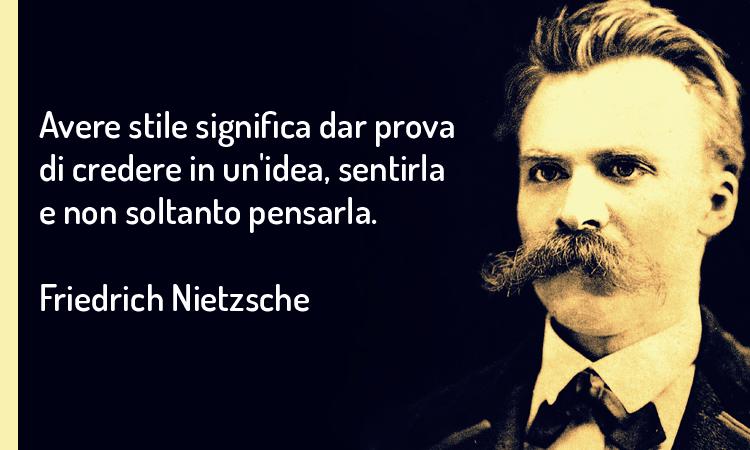 Le 10 regole per scrivere bene secondo Nietzsche