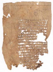 Sallustio Historiae pergamena