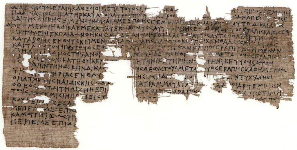 papiro di Artemisia