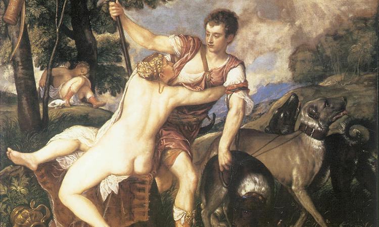 Il mito di Venere e Adone