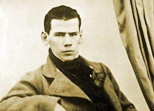 Lev Tolstoj da giovane