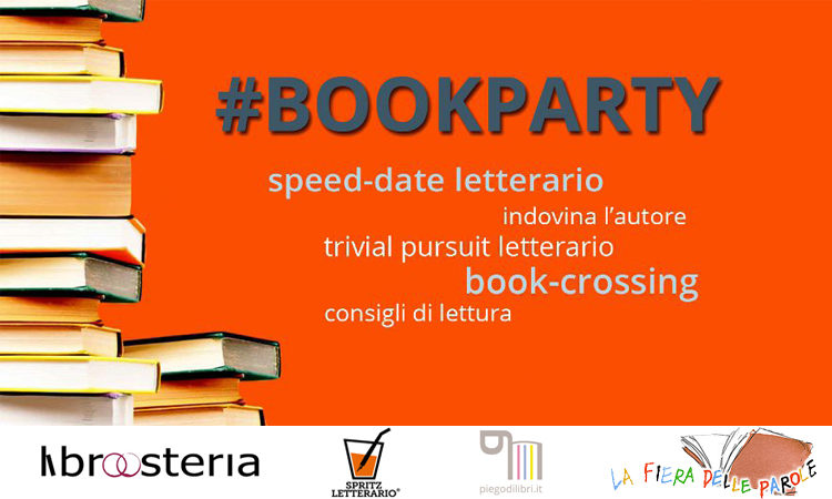 #BOOKPARTY: Domenica 7 Ottobre 2018 a Padova