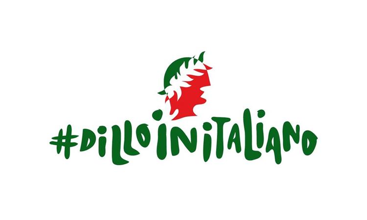 Al via la petizione #dilloinitaliano