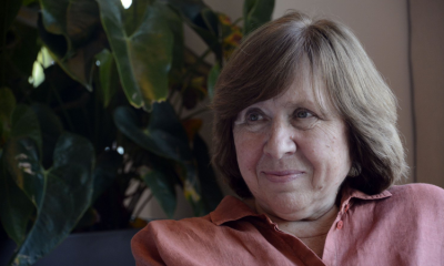 A Svjatlana Aleksievič il Premio Nobel per la Letteratura 2015