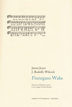 Finnegans Wake – James Joyce e J. Rodolfo Wilcock