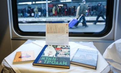 Nuove biblioteche in luoghi inaspettati: il treno Tolstoj in Russia